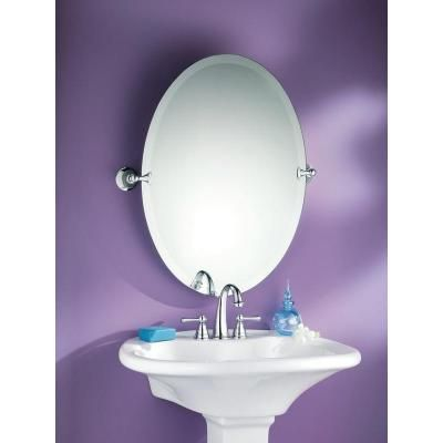 W Pivoting Wall Mirror In Chrome Dn2692ch At The Home Depot
