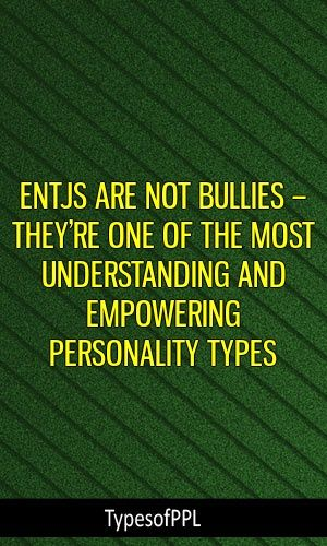 ENTJs Are Not Bullies – They're One Of The Most