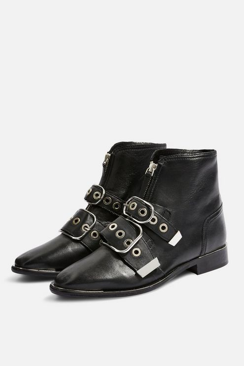 df7429b5558f ALEX Front Zip Ankle Boots in 2019 | Products | Shoe boots, Boots ...