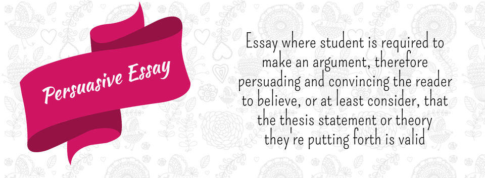 Read To Know Everything About A Persuasive Essay  Writing Tips