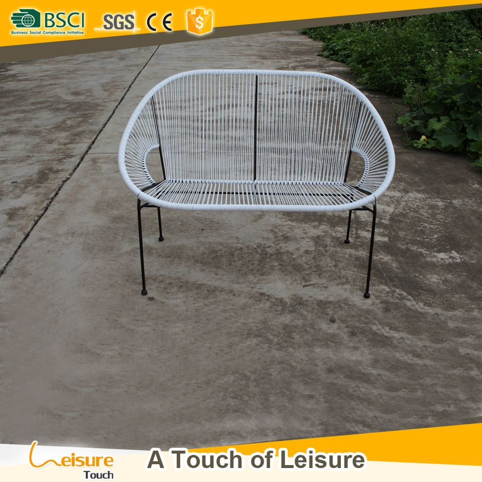 Groovy Hot Sell White Color Rattan Leisure Patio Furniture Double Gmtry Best Dining Table And Chair Ideas Images Gmtryco