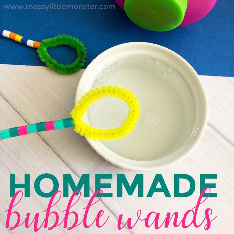 Homemade Bubble Wands For Fun Outdoor Bubble Play Homemade