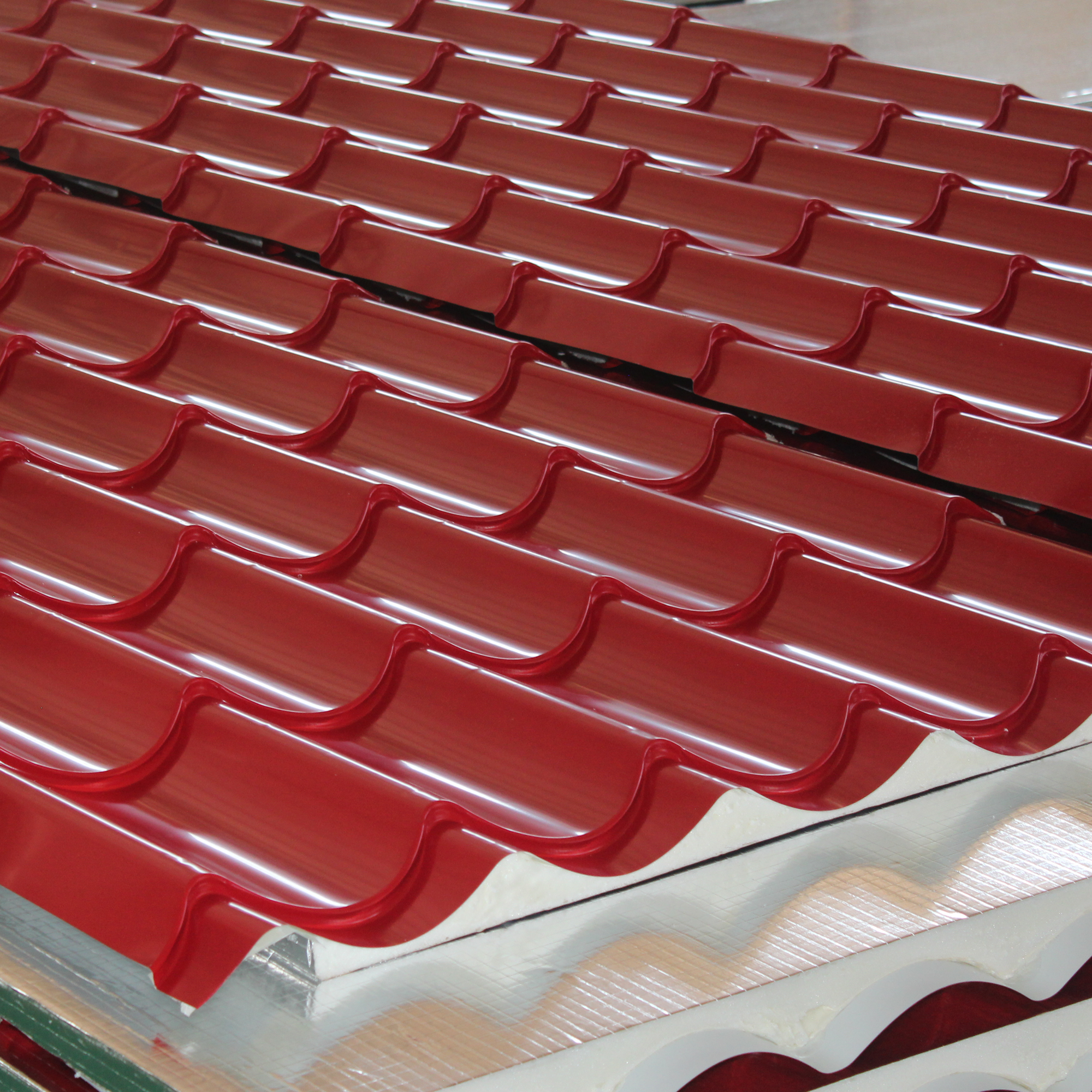 Qsif Roofing Tiles And Panels By Qatar Steel Factory In 2020 Clay Tiles Roofing Roof Panels