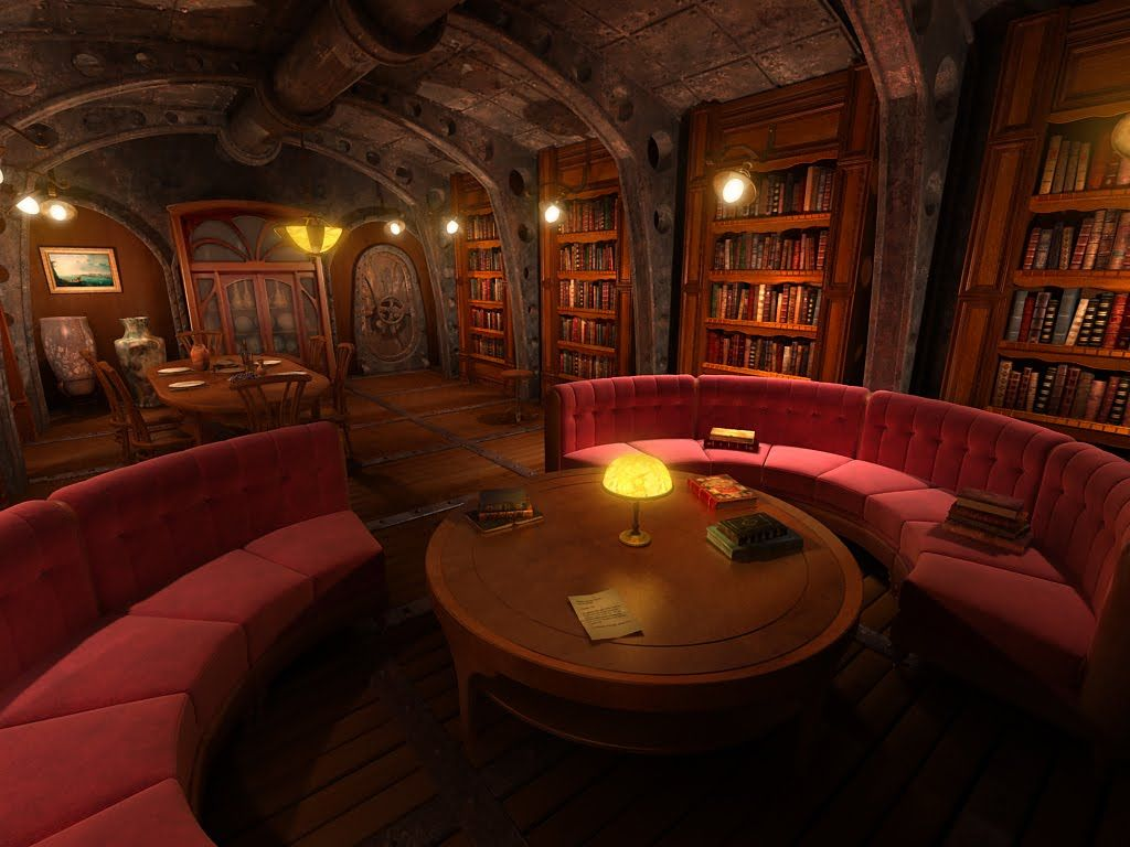 Welcome to the surreal steampunk apartment where jules verne meets tim - Jules Verne Herv Castaing 2009 Suezsteampunk Design