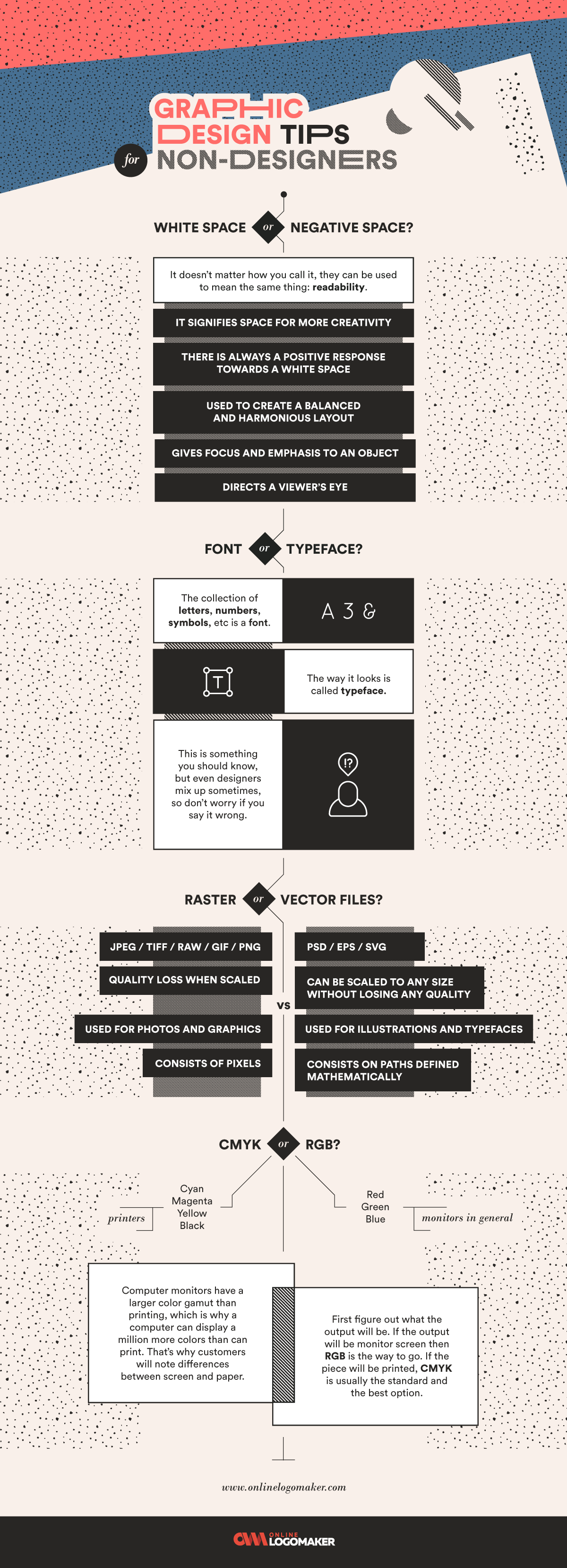 Best design tips for nondesigners on infographic