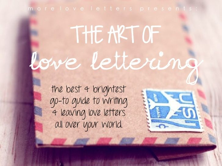 HowToLoveLetterTheWorld By Moreloveletters IM Definitely