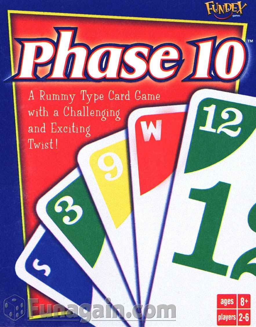 Phase 10 Yet another fun card game Phase 10 card game