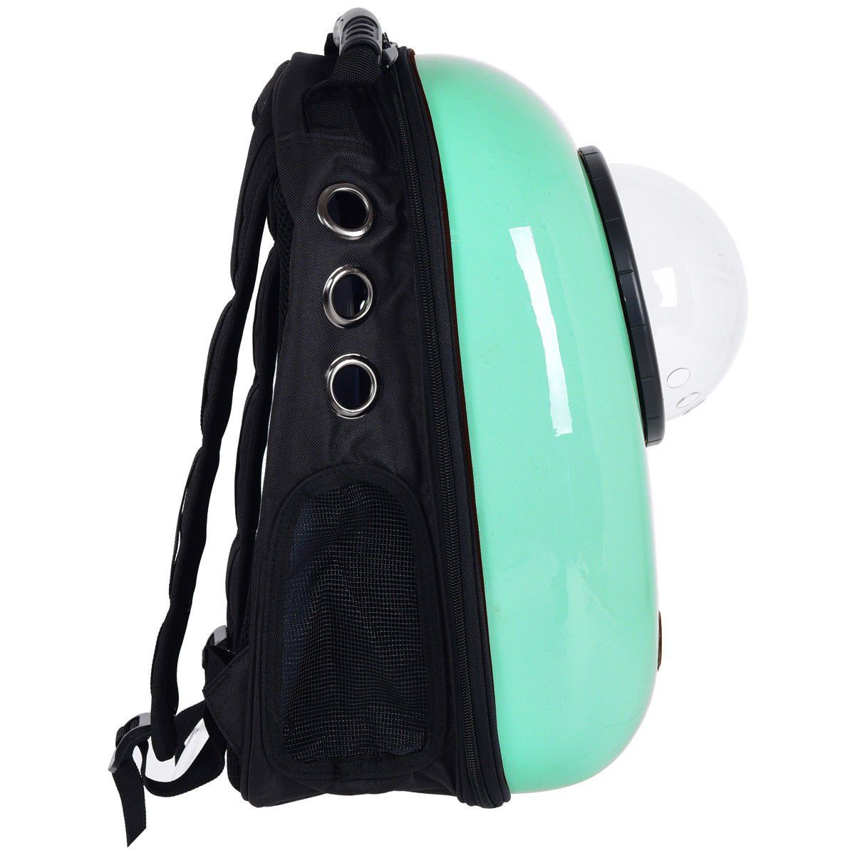 abd234545485 Giantex Astronaut Pet Cat Dog Puppy Carrier Travel Bag Space Capsule  Backpack Breathable Light Green