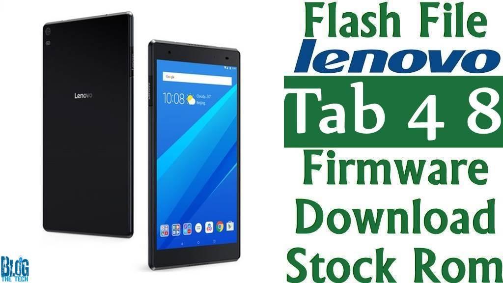 Flash File] Lenovo Tab 4 8 TB-8504F Firmware Download [Stock