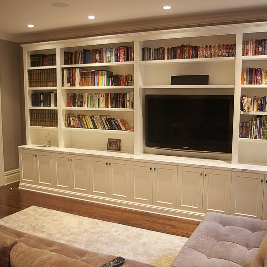 Cabinets For Living Room Designs: Custom Made Living Room Media Unit