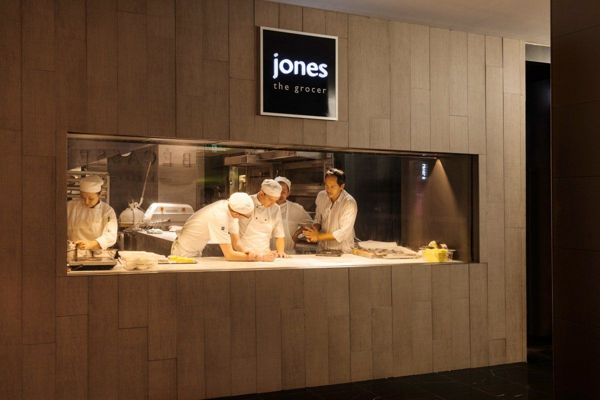 Landini Associates Jones The Grocer Food Retail Pinterest Restaurants Open Kitchens And Bar