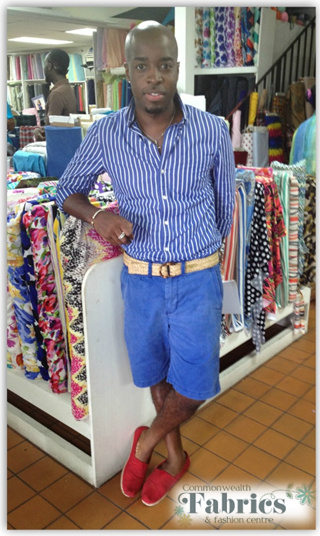 We are always happy to see Kedar Clarke shop with us here at Commonwealth Fabrics.