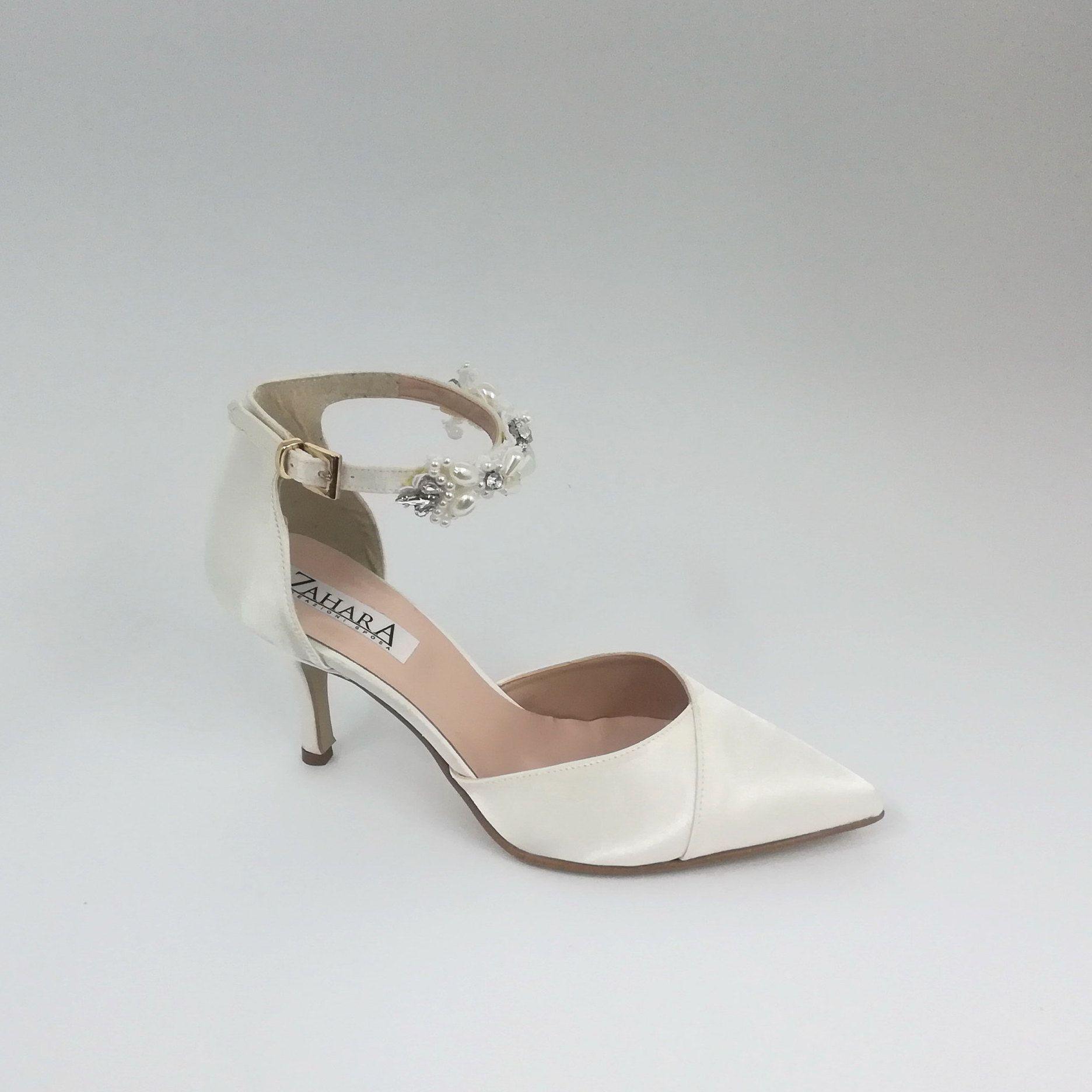 Scarpe Sposa Italia.Custom Made In Italy Bridal Shoes Nel 2020 Scarpe Da Sposa