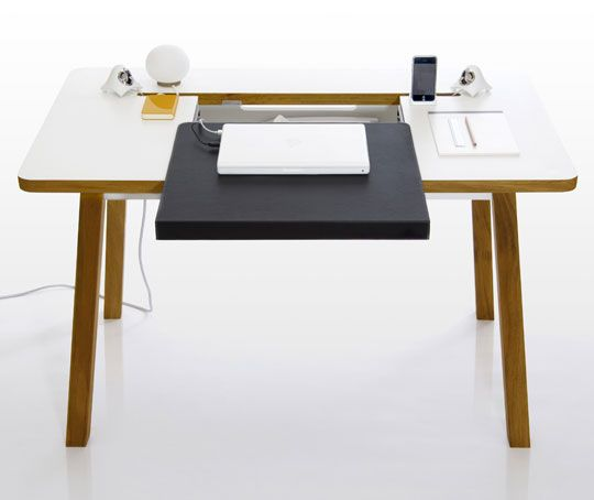 Father Son Team Build Awesome Cable Free Desk Desks Team Delectable Office Furniture Team Decoration