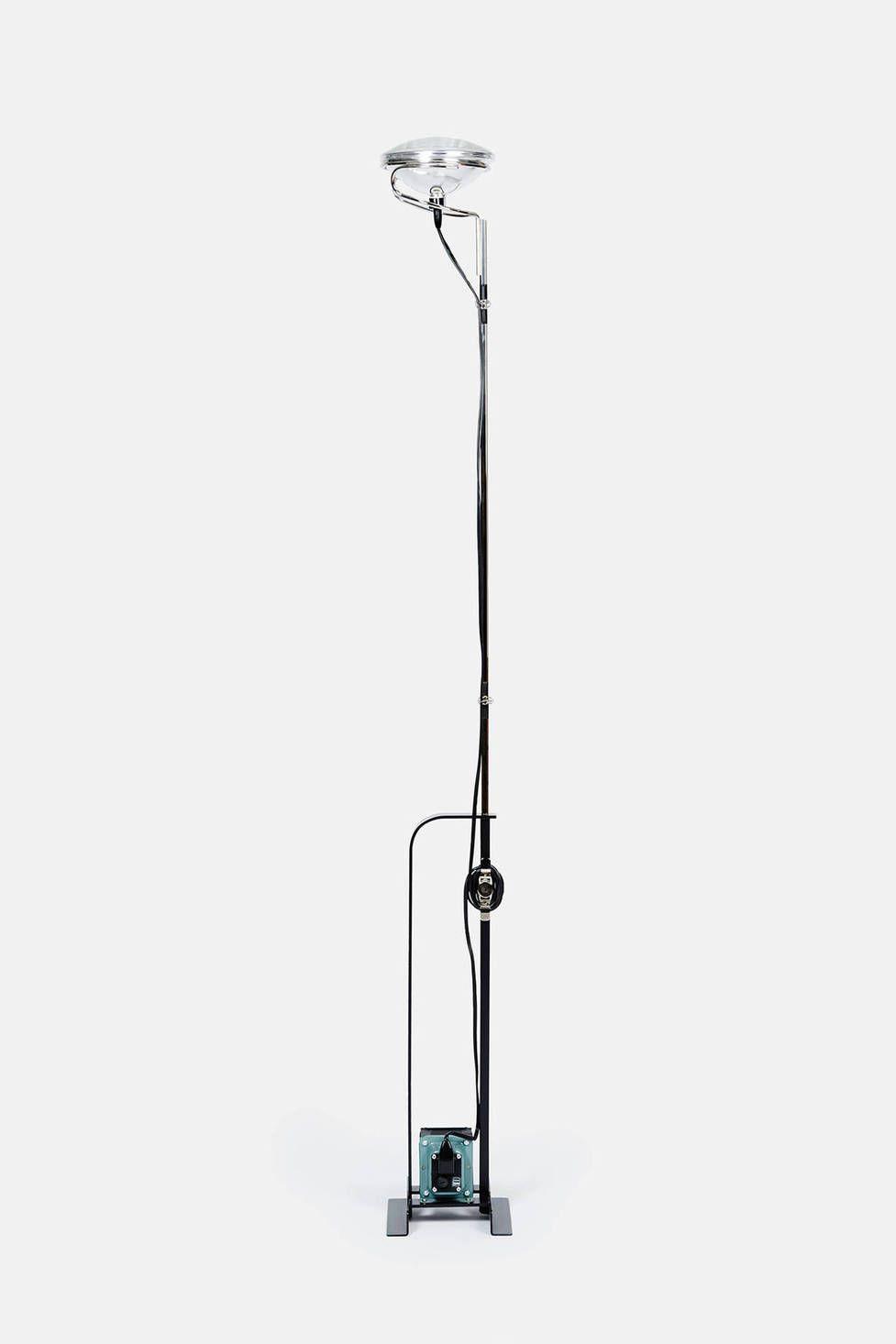Toio By Achille And Pier Giacomo Castiglioni Black Elegant Floor Lamps Lighting Concepts Castiglioni