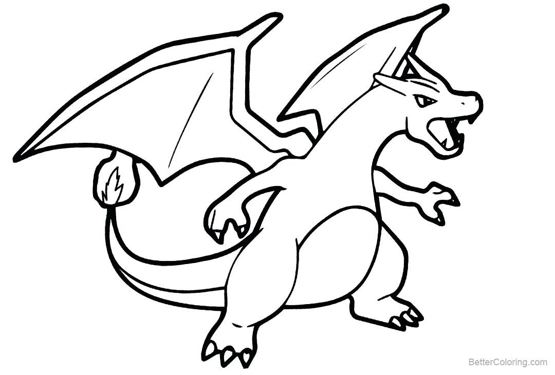 Free Printable Pokemon Coloring Pages Charizard Pokemon Coloring
