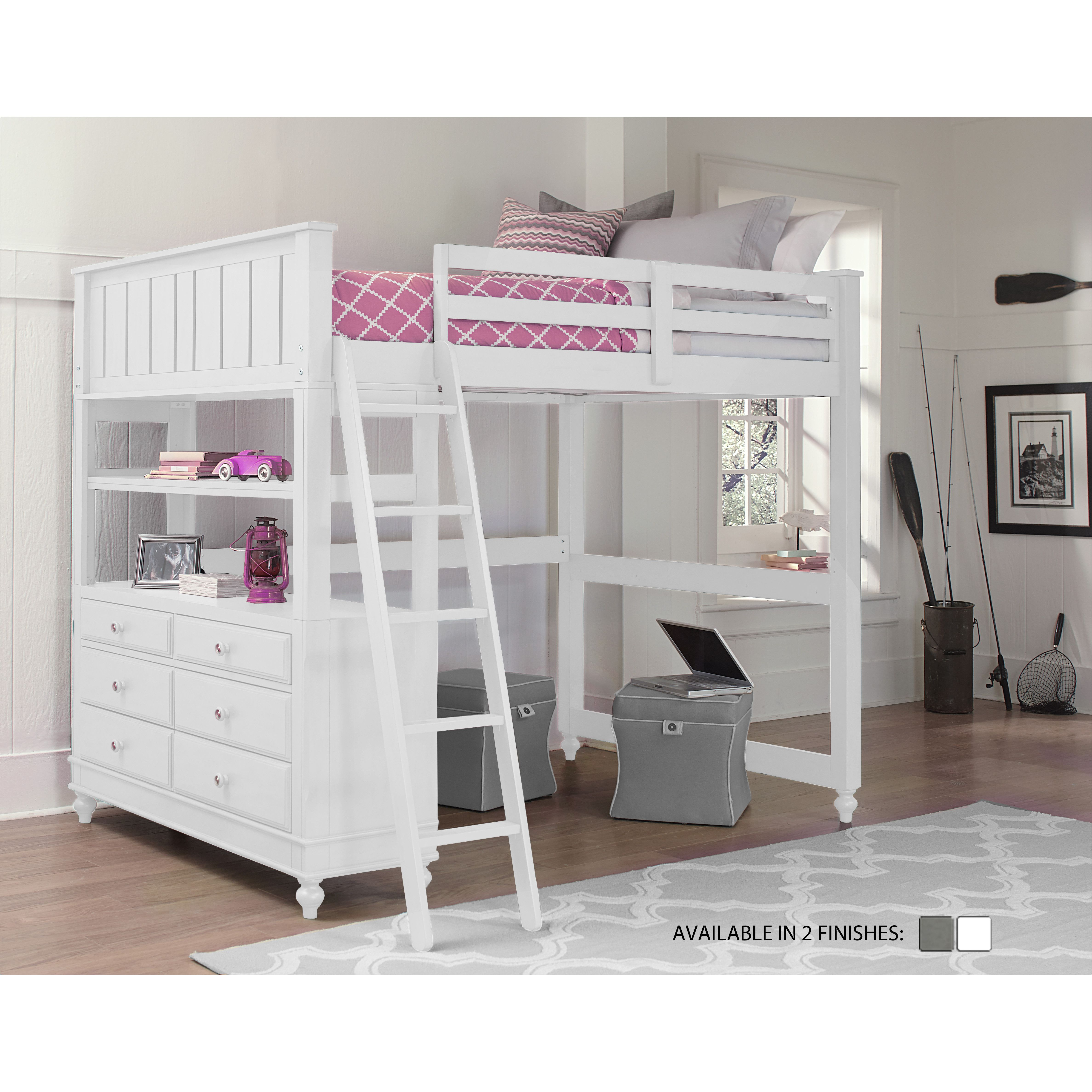 Viv Rae Wendy Loft Customizable Bedroom Set Reviews Wayfair Kids Loft Beds Loft Bunk Beds Twin Loft Bed