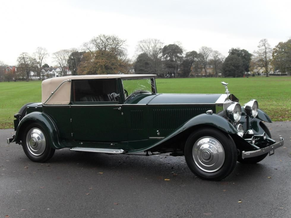 1931 Rolls Royce Phantom Ii Continental Cars Rolls