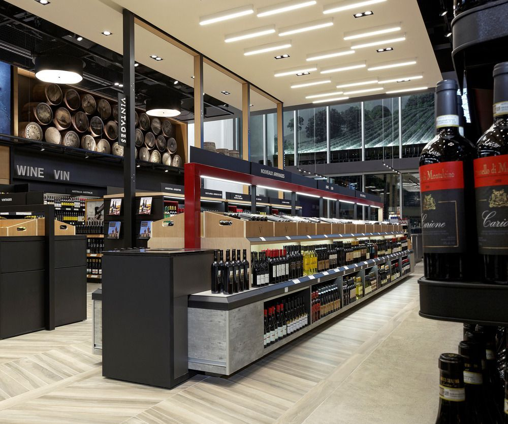 New Concept Whiskey Store