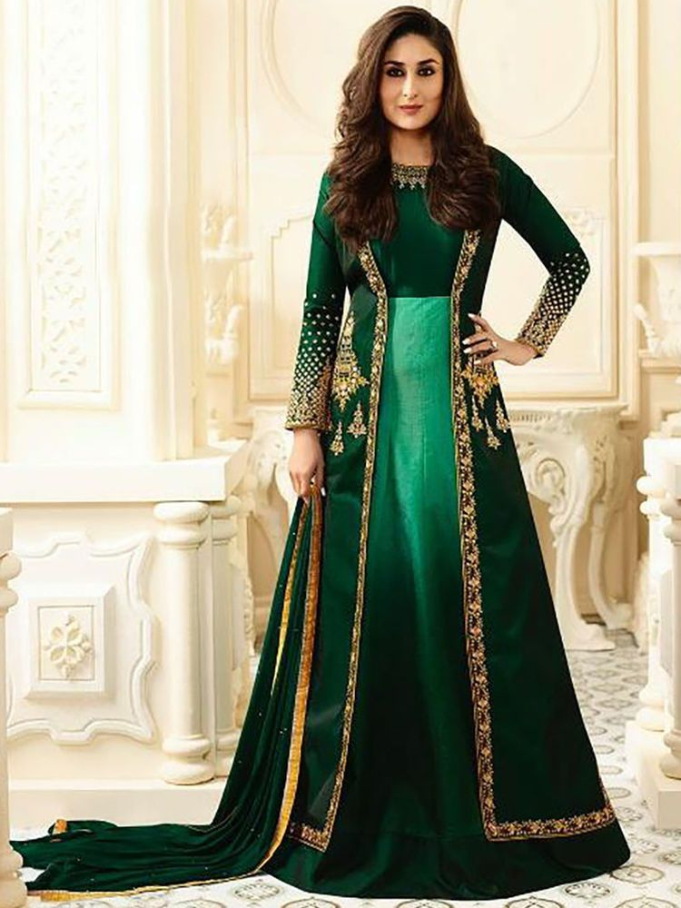 fab68f9a45 Check out trending dresses for. Indian ethnic Bollywood Party wear  embroidered Unstitched Anarkali Salwar Suit #Indian #SalwarKameez