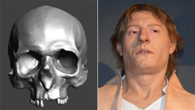 Facial Reconstruction Skull