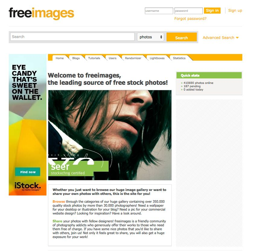 Welcome to freeimages, the leading source of free stock photos!