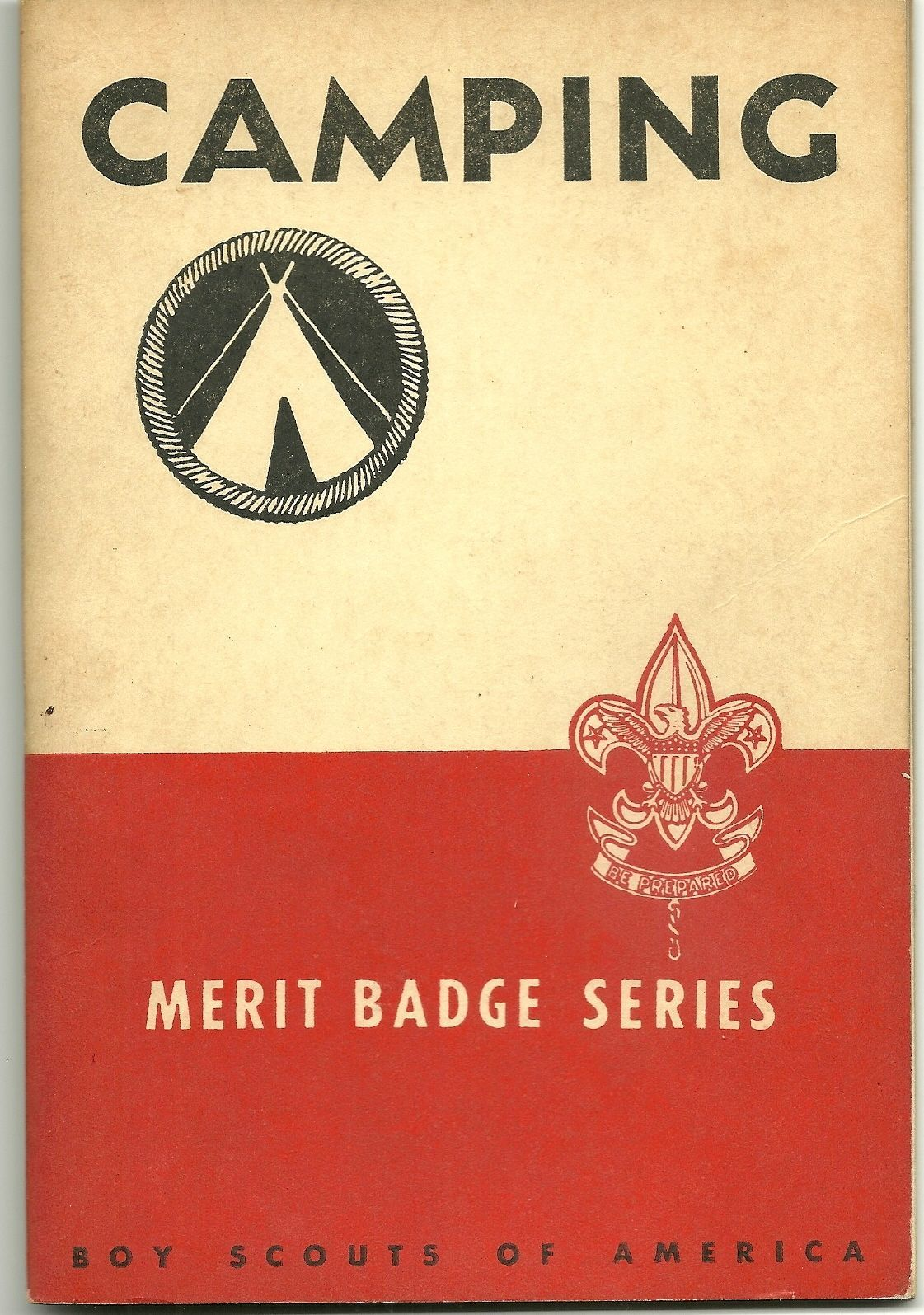 Vintage Boy Scouts Of America Camping Merit Badge Series