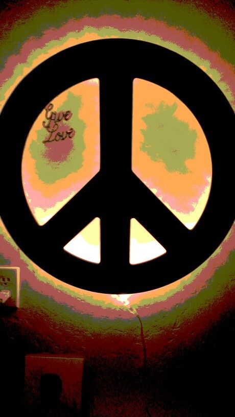 Give love. Peace
