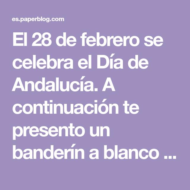 Pin En Andalucía