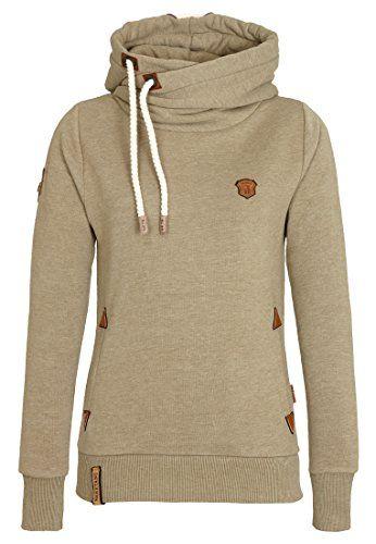 Naketano Mandy Cowl Neck Hooded Sweatshirt