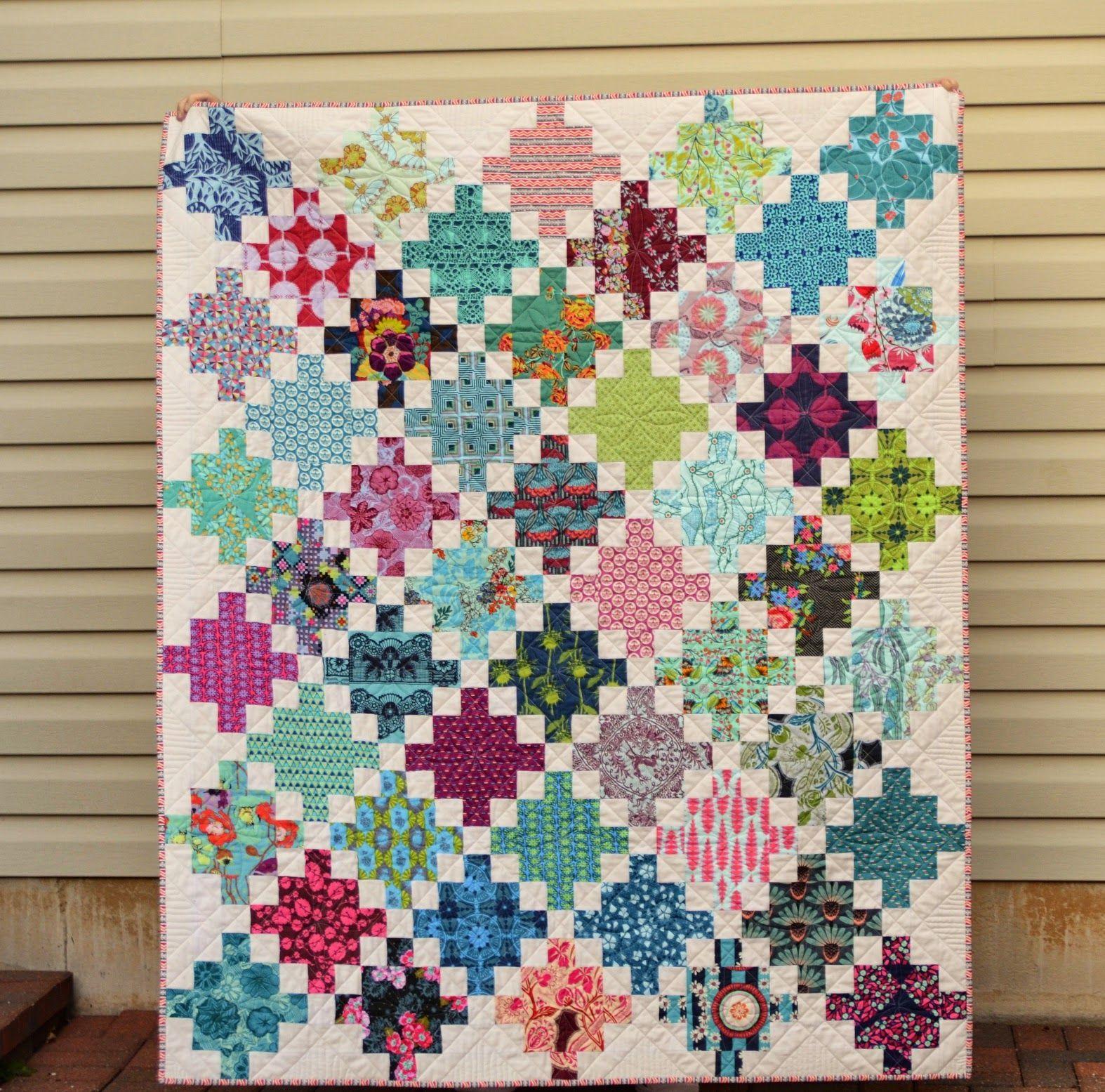 Hyacinth quilt designs cut