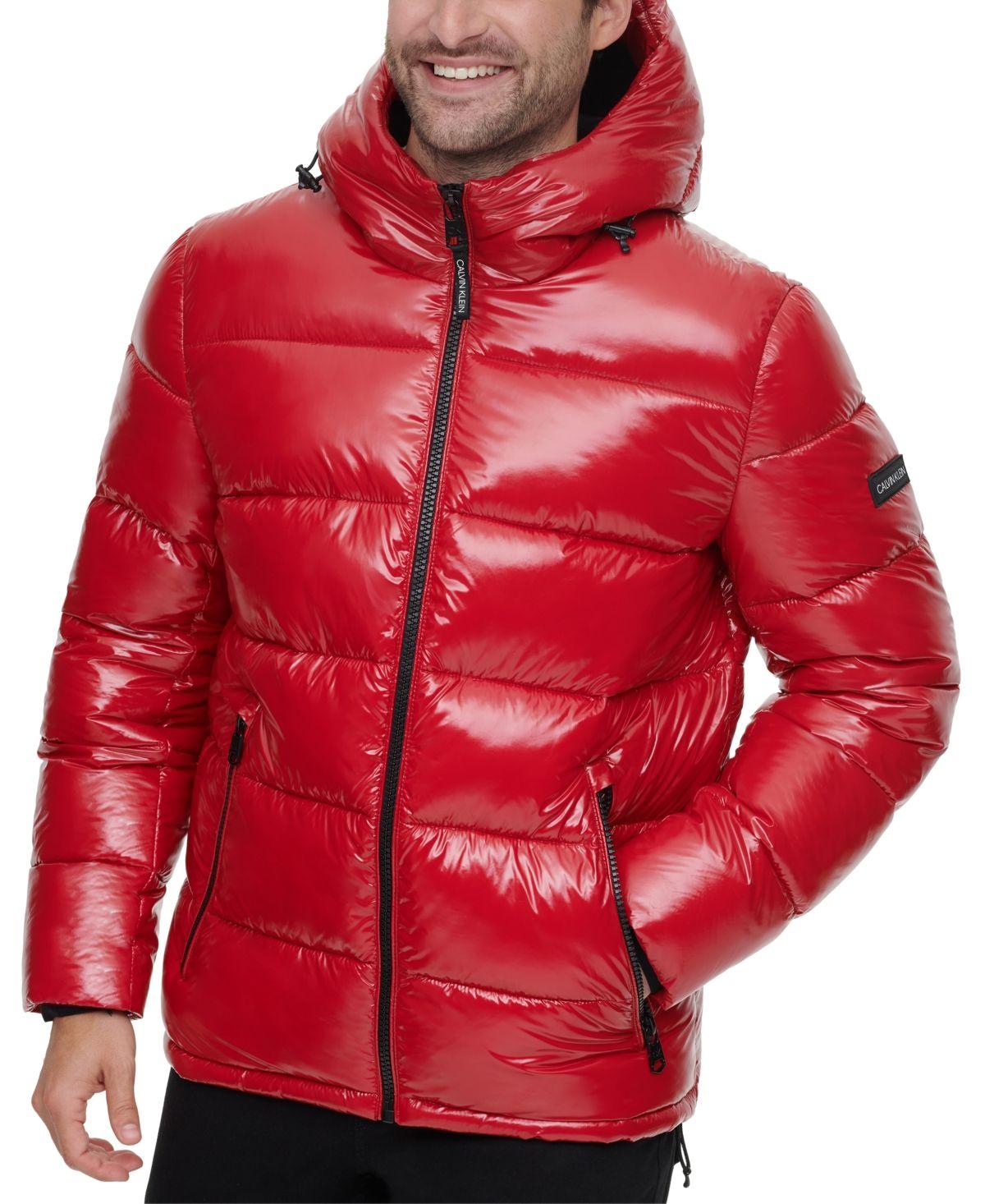 Calvin Klein Men S High Shine Puffer Jacket Reviews Coats Jackets Men Macy S In 2021 Calvin Klein Men Calvin Klein Jackets [ 1466 x 1200 Pixel ]