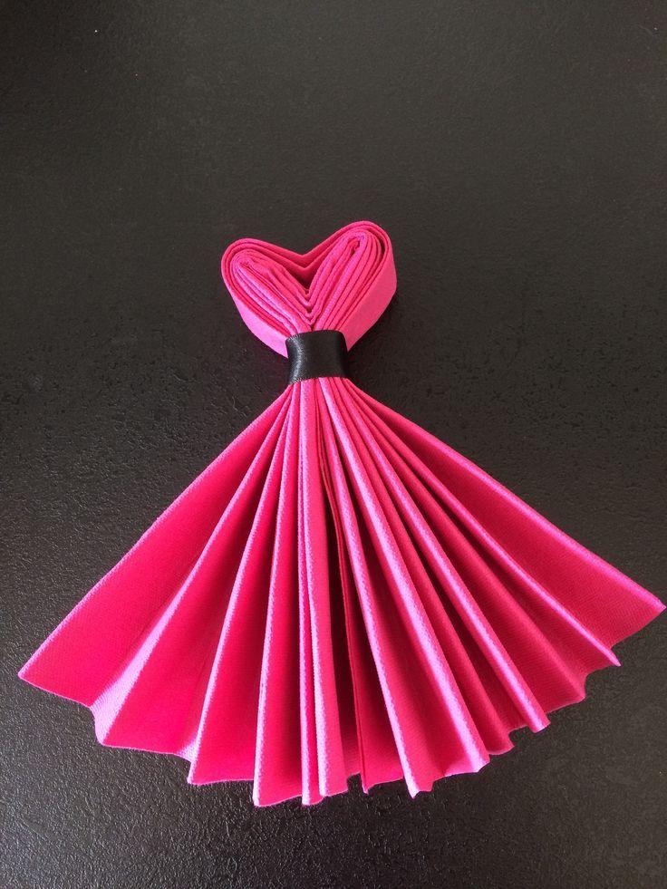 Party Dress Napkins.... -   25 diy dress party ideas