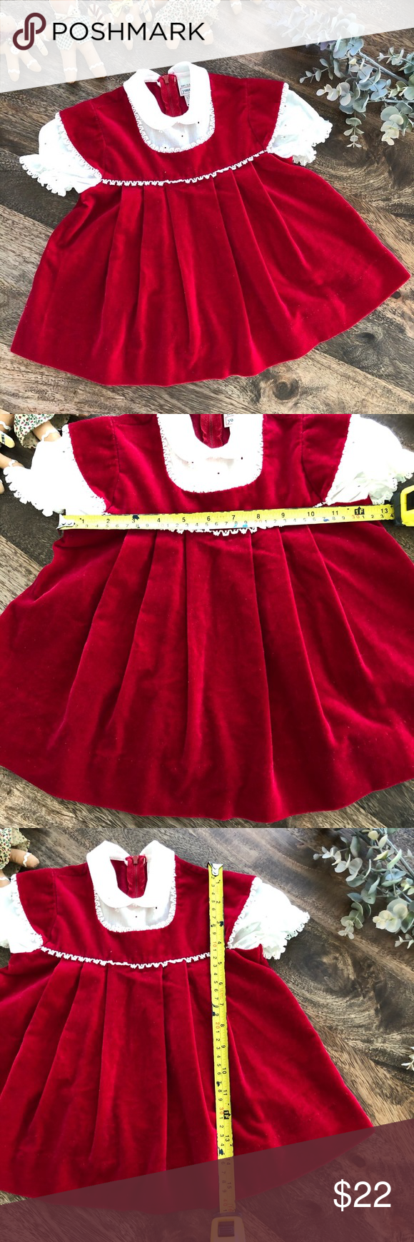 Vintage Red Dress By Youngland Size 2t Vintage Red Dress Vintage Dresses Casual Red Dress [ 1740 x 580 Pixel ]