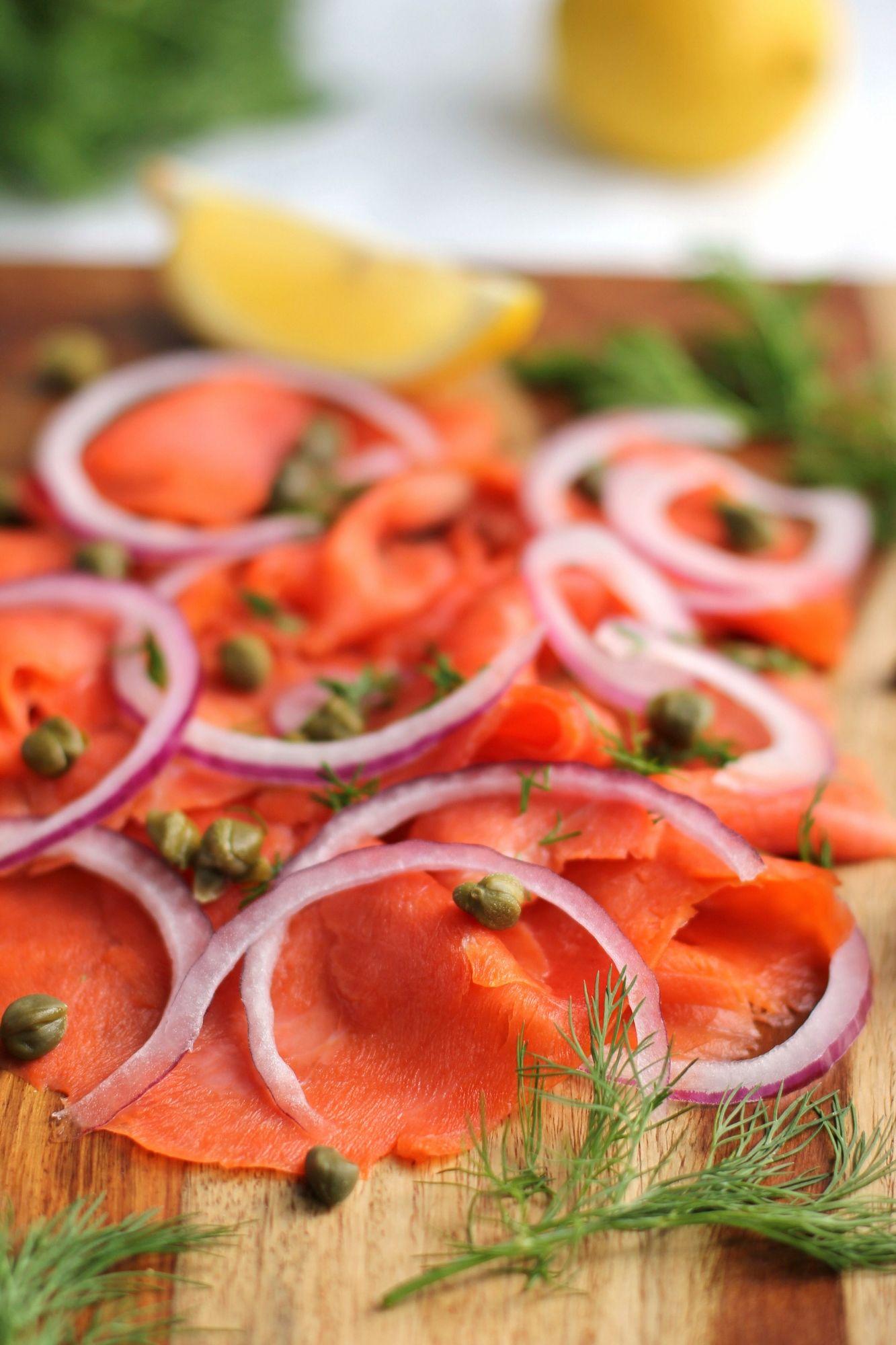 Smoked Salmon Appetizer Platter  Ricottaandradishes