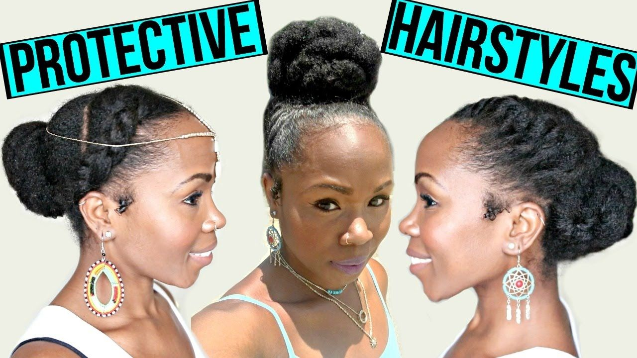 Fast Protective Hairstyles For Hair Growth Length Retention Natural Ha Medium Length Hair Styles Protective Hairstyles For Natural Hair Natural Hair Styles