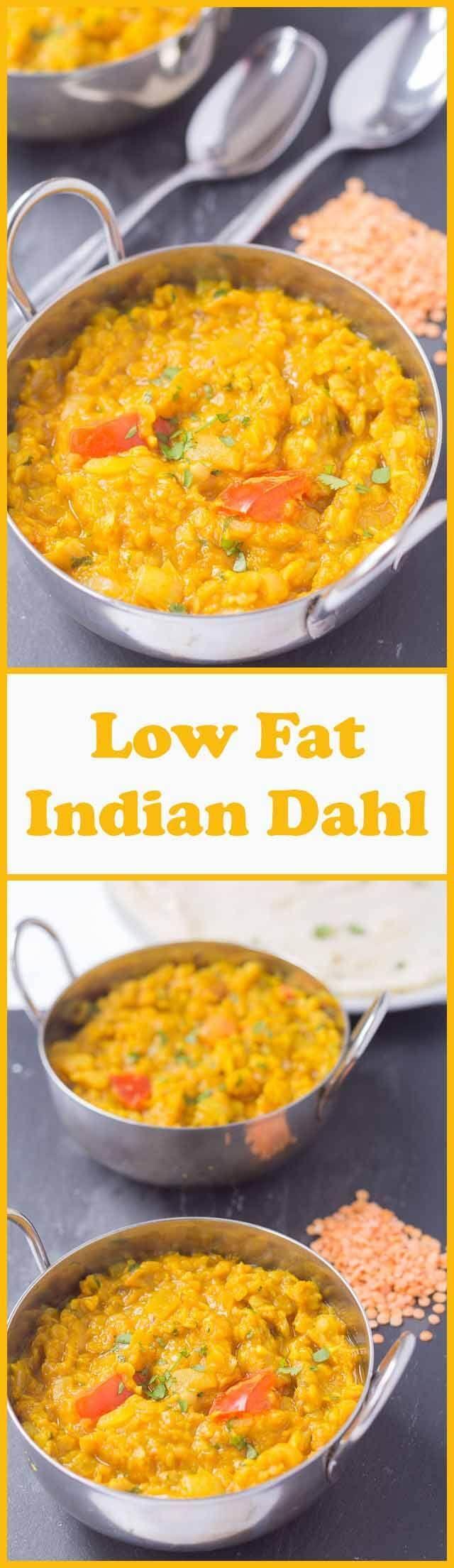 Low Fat Indian Dahl Recipe Indian Recipes Food