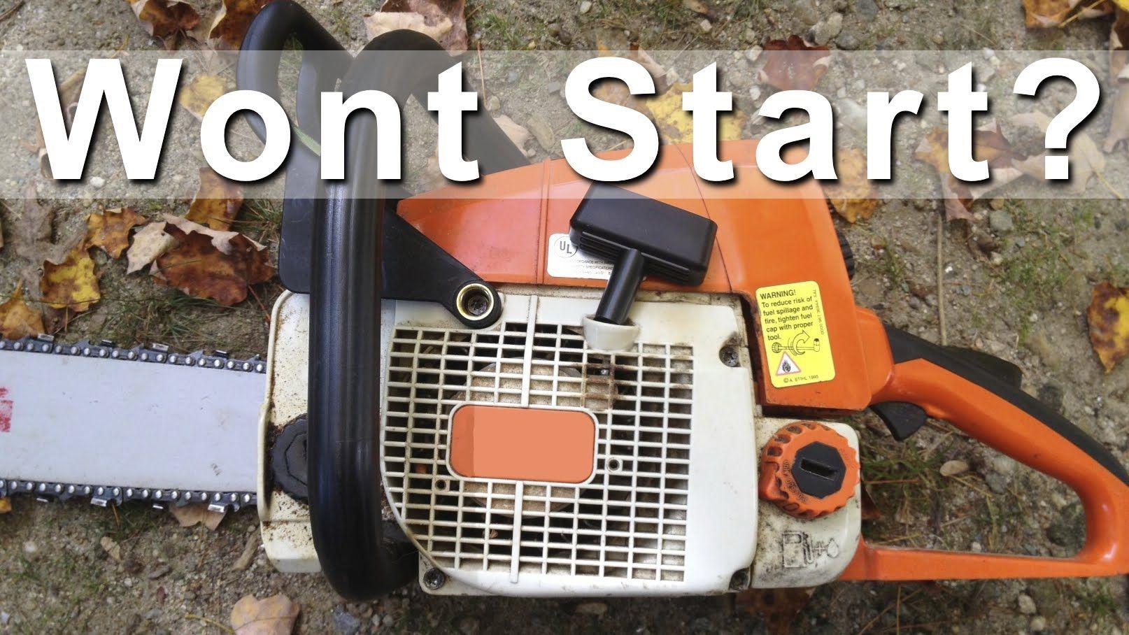 Chainsaw and Gas Trimmer Repair Fix DIY GardenFork.TV