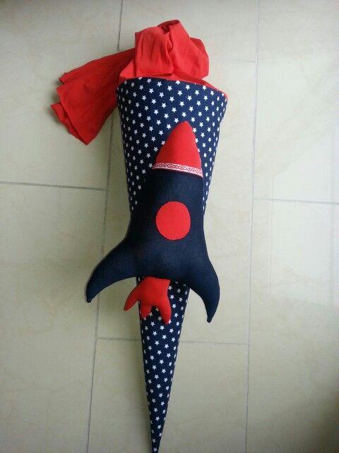 Guten Start in die Schulzeit... mit der Raketenschultüte...