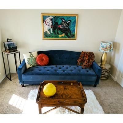 Customer Reviews Novogratz Vintage Tufted Sofa Sleeper Ii