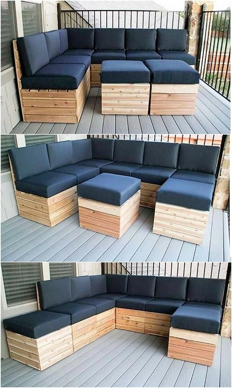 how to make a couch out of pallets
