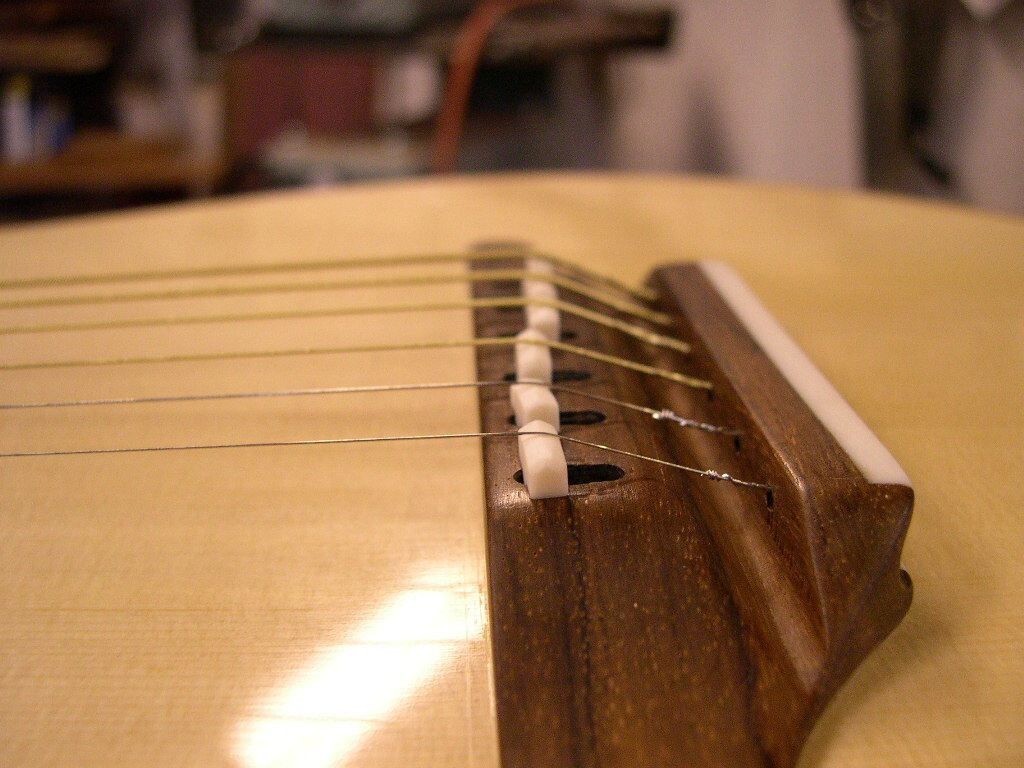Adjustable Acoustic Guitar Bridge Guitar Building Guitar Design Guitar Tech