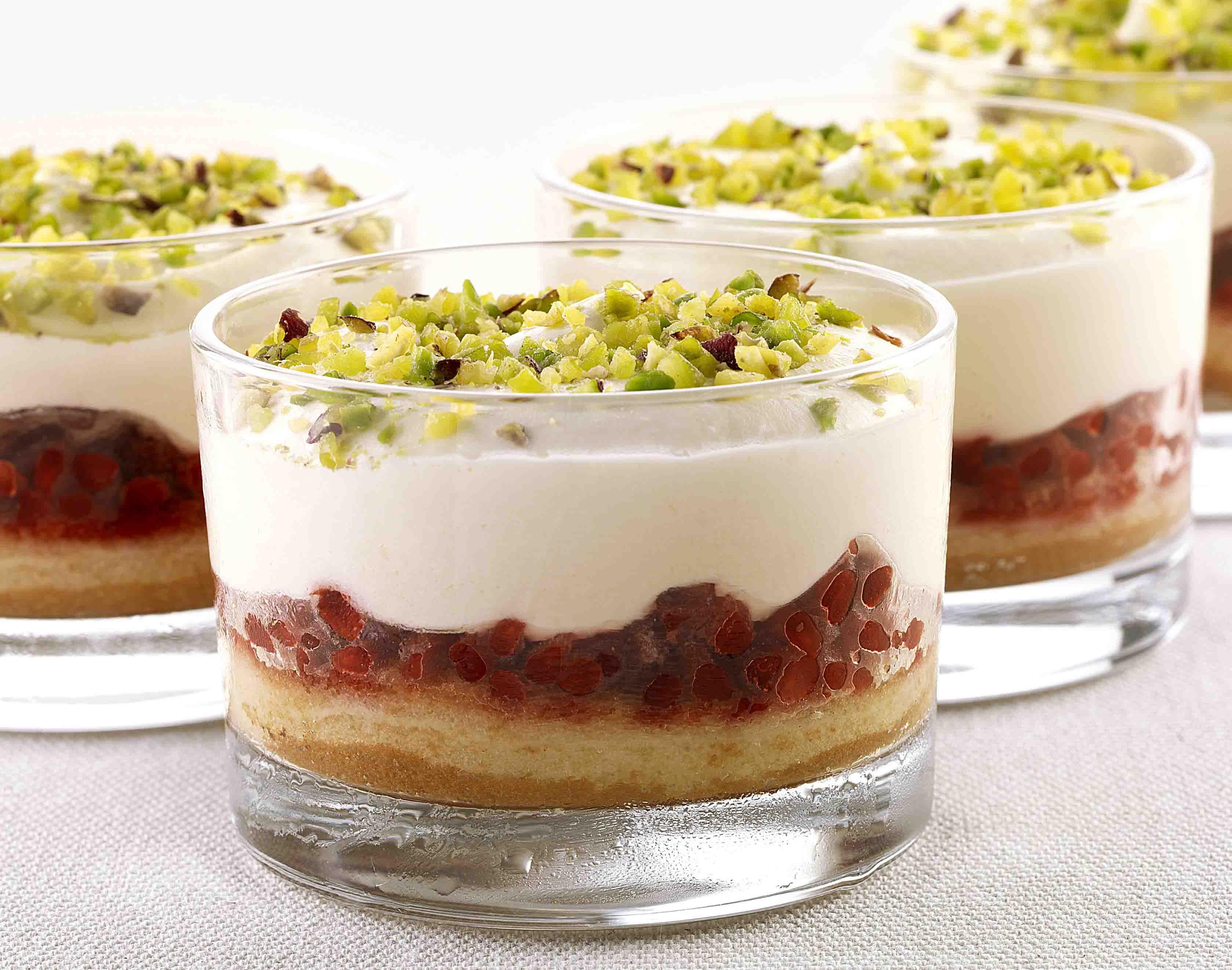 Coppa Mascarpone e Lamponi #monoporzioni #dessert