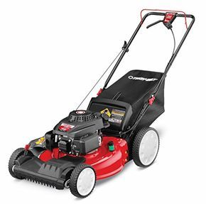 TroyBilt TB220 159cc 21inch FWD SelfPropelled Lawn Mower is part of lawn Mower Front Yards - This selfpropelled lawn mower is perfect for mowing small to medium sized yards Powered by a 159cc Front Wheel Drive OHV engine Offers a very lightweight design with a 21inch steel deck