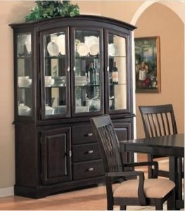 Storage For China Glassware & Crystal How To Store & Display It Best Dining Room Buffet Hutch Design Decoration