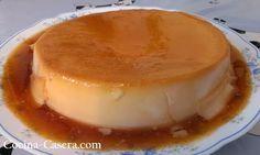 Flan de coco casero con caramelo líquido No podía faltar en Cocina Casera, una de las recetas más clásicas en cuanto a postres y dulces …