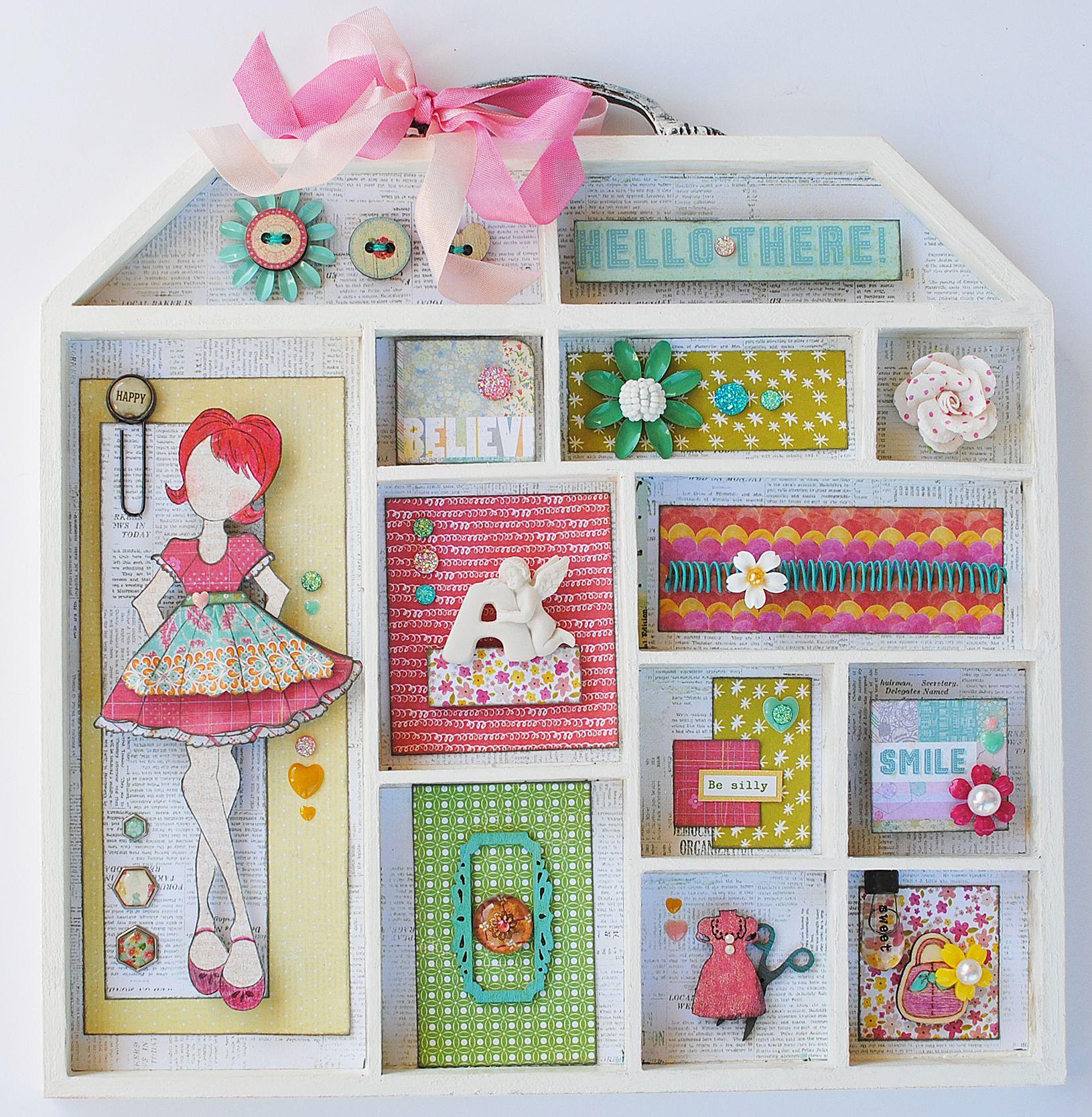 Prima  Scrapbookcom  Alter Primas Doll House To Create