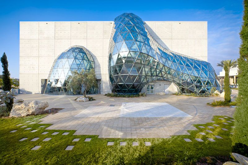 Urukia Magazine Photo of The Salvador Dali Museum in Florida by HOK Architects, 2