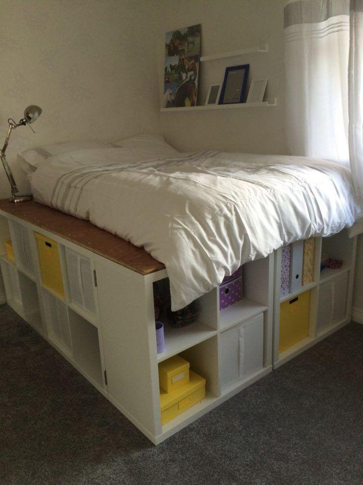Platform bed,Gallet | Zimmer einrichten, Tumblr zimmer ...