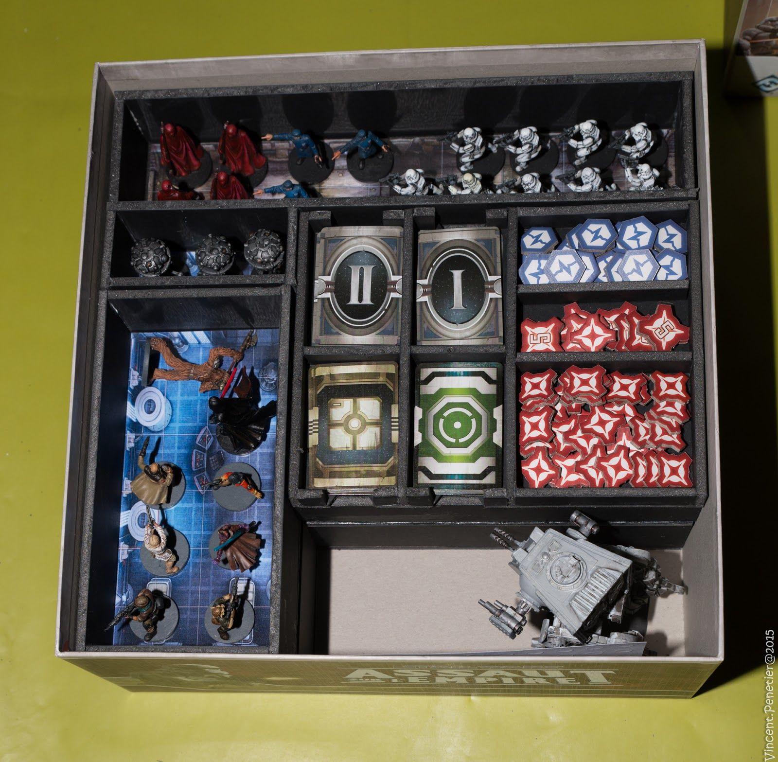 Imperial Assault: la boite de rangement   Boite de rangement, Jeux de figurines, Figurine